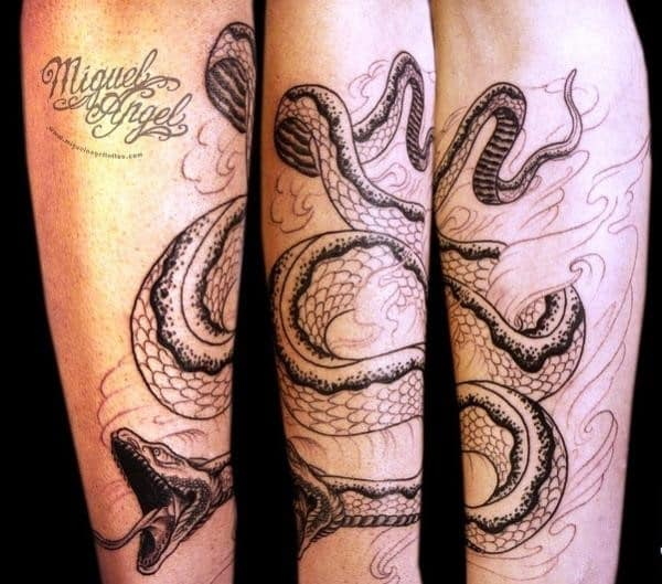 mosher-snake-tattoo