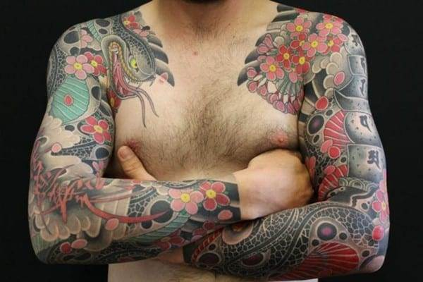 Awesome-snake-sleeves-by-Ten-Ten-Tattoo