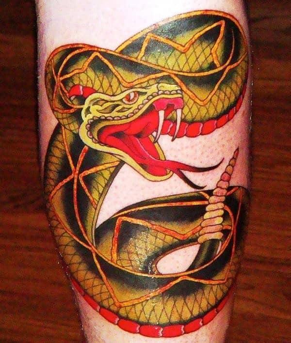 rattle-snake-tattoo
