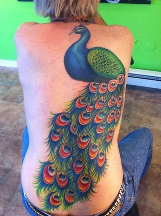 2-Back-Peacock-Tattoo