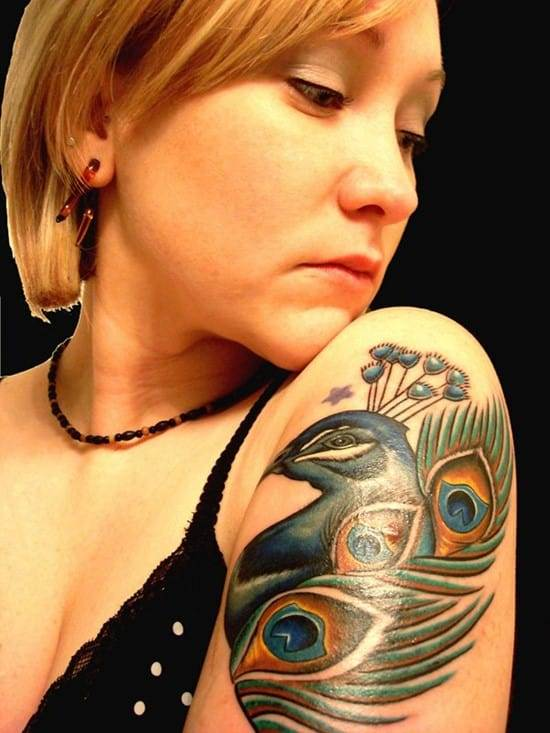 5-Halfsleeve-Peacock-Tattoo