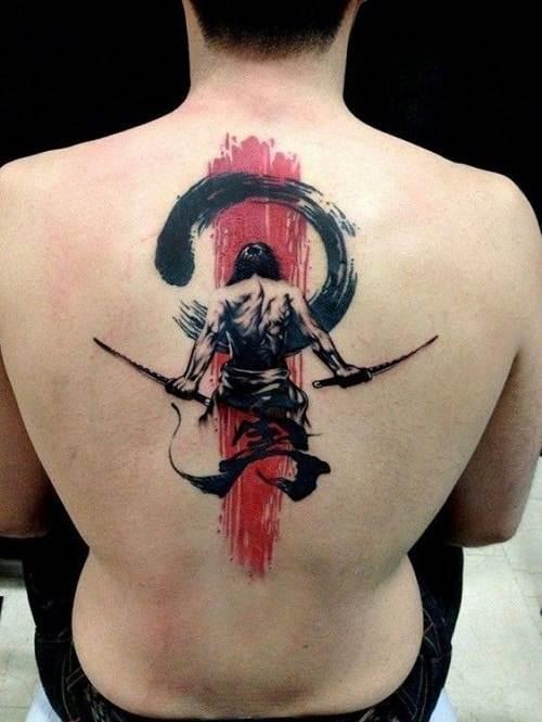 Brave Samurai Tattoo