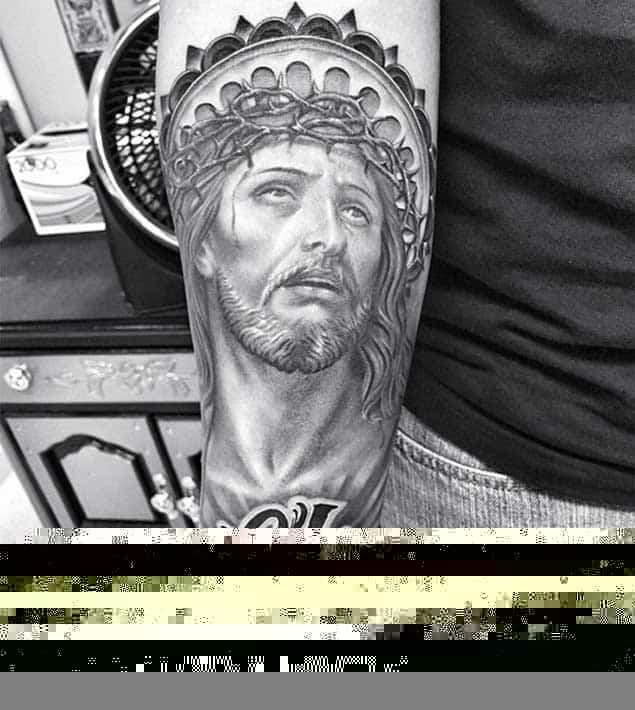 christian-Jesus-tattoo