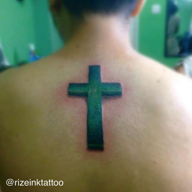 christian-cross-tattoo