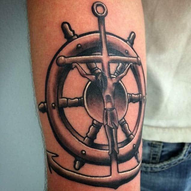 Jesus-on-cross-tattoo
