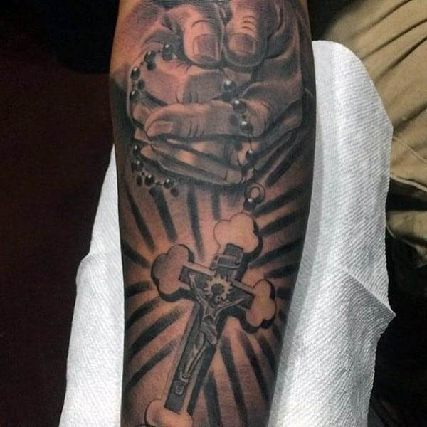 forearm-rosary-christian-tattoos-for-males