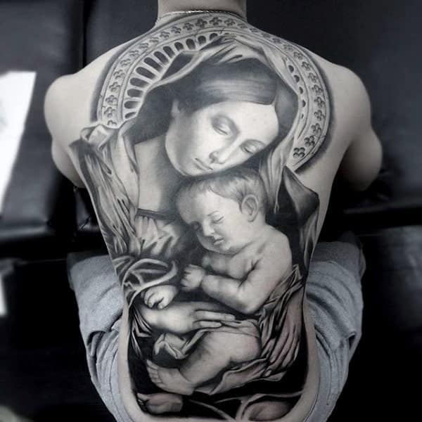 mother-mary-and-baby-jesus-christian-symbols-tattoos-for-men