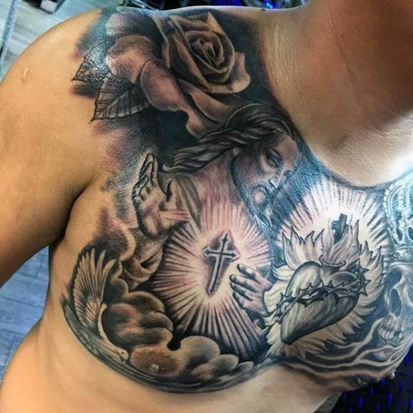 male-christian-chest-tattoos