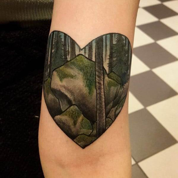 So-in-love-with-this-one-done-by-Johannes-B-No-fear-Tattoo-Gothenburg-Sweden.-The-heart-looks-a-bit-odd-due-to-my-arm-being-super-swollen.-650x650