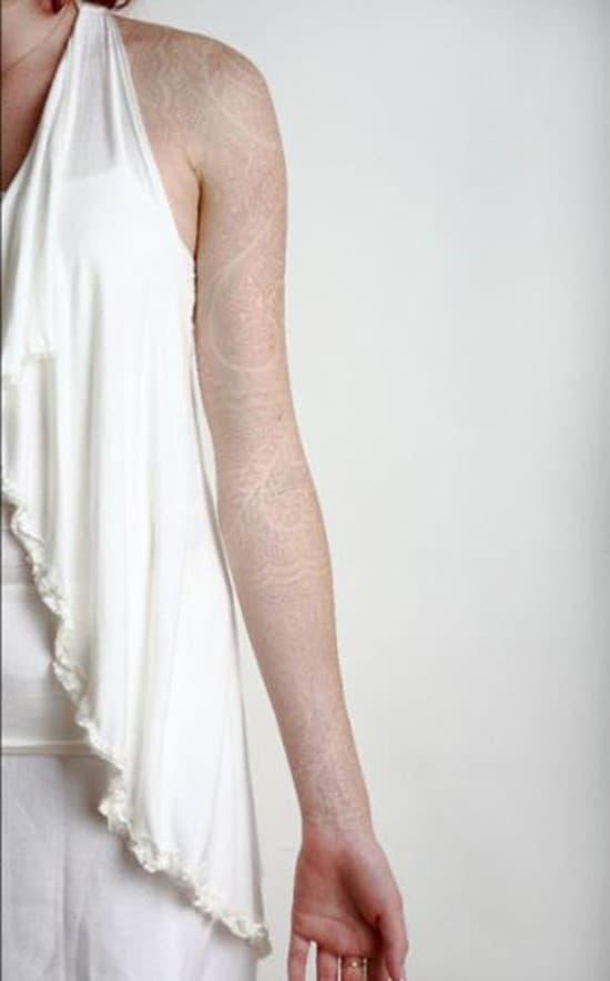 36-white-ink-arm-tattoo