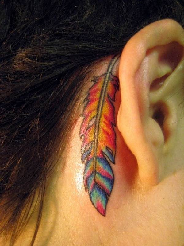 feather-tattoo-behind-the-ear