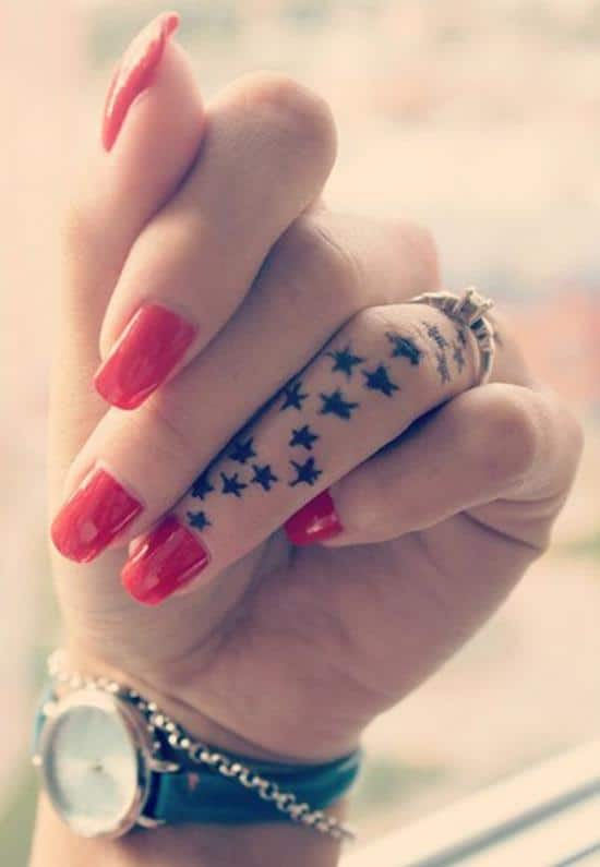34-Star-finger-tattoo