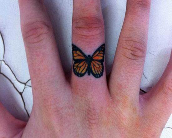 38-Butterfly-finger-tattoo
