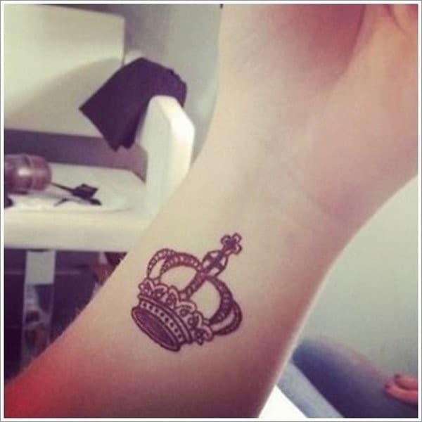 Crown-Wrist-Tattoo