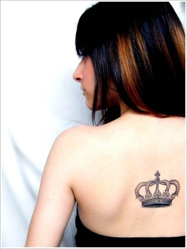 Popular-Crown-Tattoo-for-Women