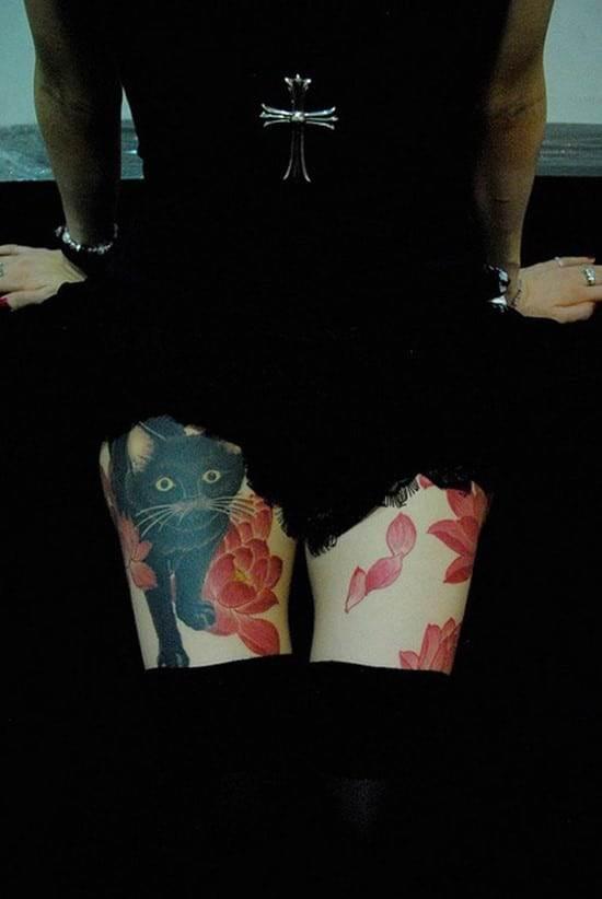 33-cat-and-cherry-tattoo