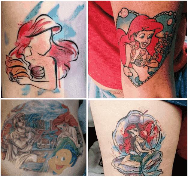 ariel-tattoo-designs