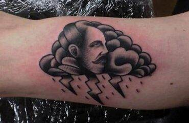 Amazing Cloud Tattoos For Men And Women