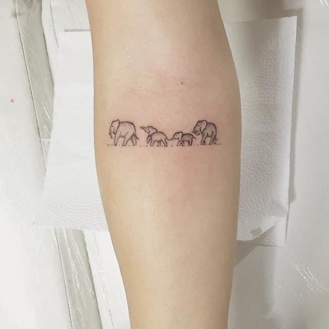 elephant tattoo3