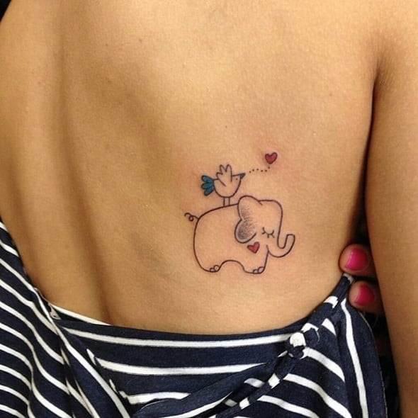 Elephant Tribal Tattoos