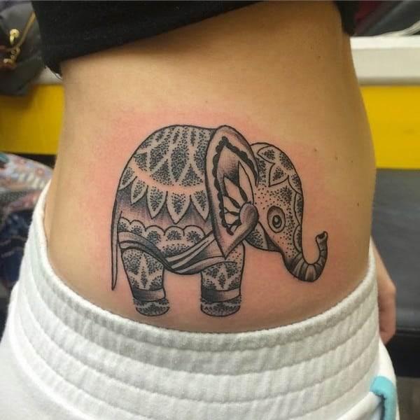 Arm Elephant Tattoo