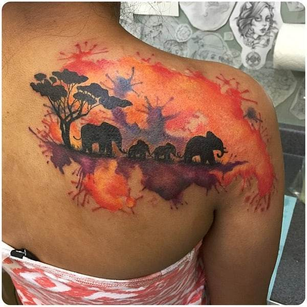 Elephant Tattoo Designs Pinterest
