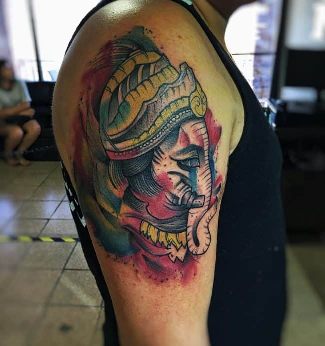 elephant tattoo42