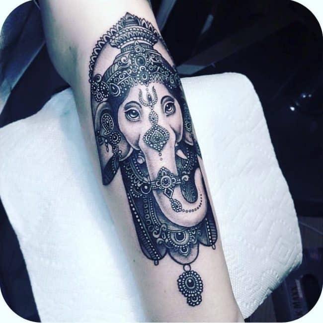 elephant tattoo43