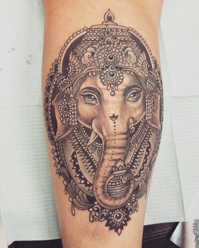 elephant tattoo45