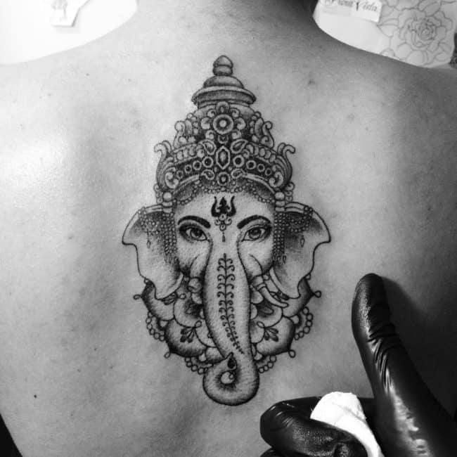 elephant tattoo47