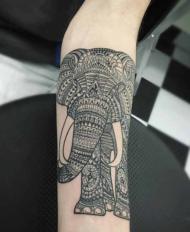 elephant tattoo51