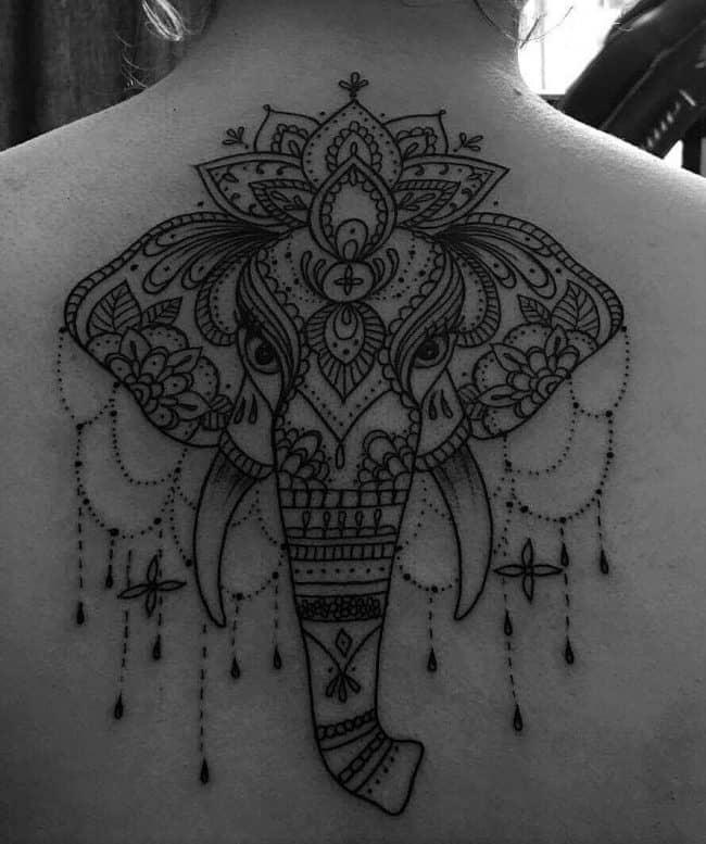 elephant tattoo54