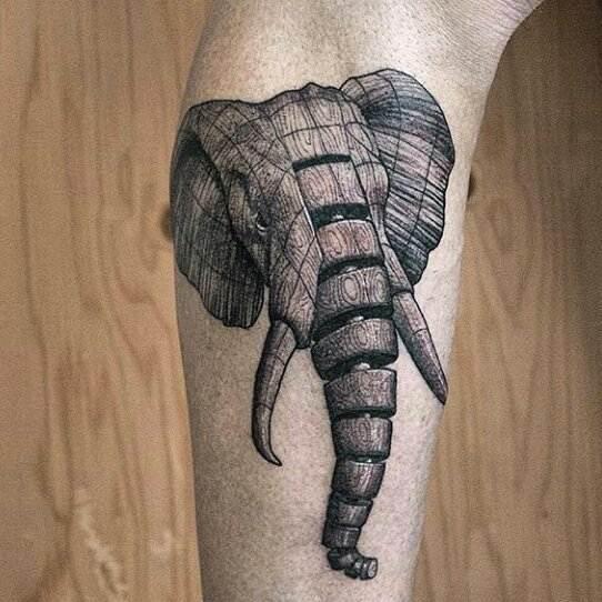elephant tattoo77