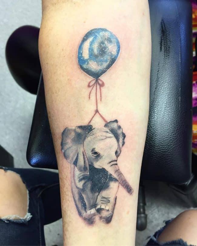 elephant tattoo82