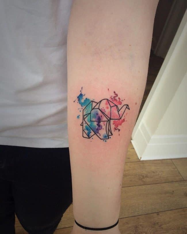 elephant tattoo86