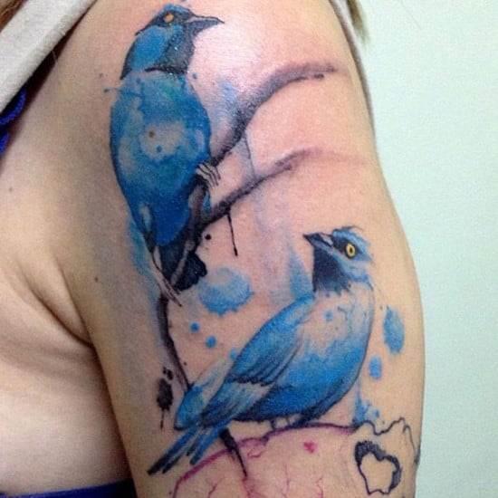 34-Bird-watercolor-tattoo
