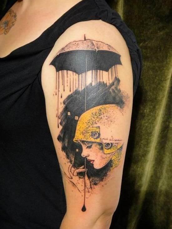 watercolor-Tattoo
