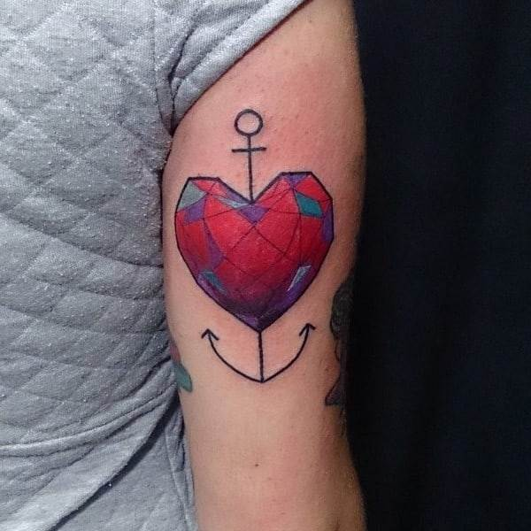 Simple Heart Tattoos