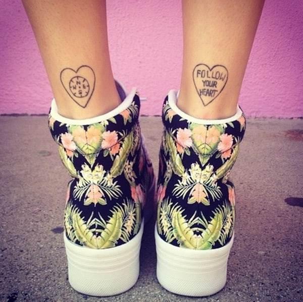 Butterfly Tattoos Girls