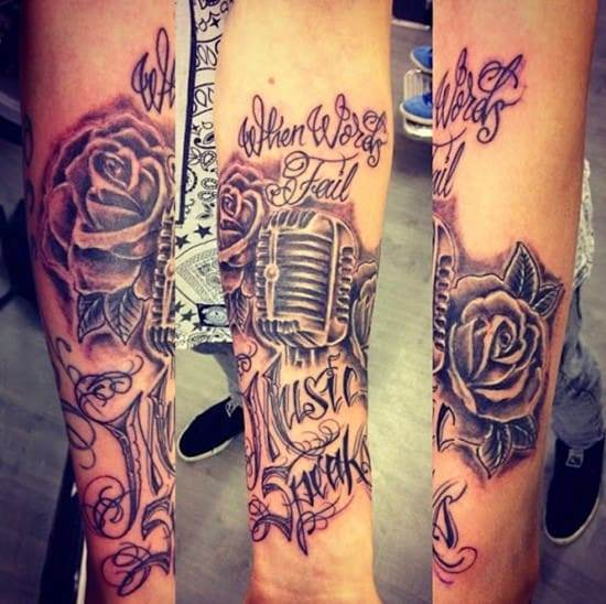 music tattoos designs ideas pictures 6