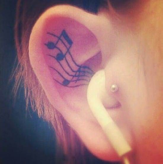music tattoos designs ideas pictures 7