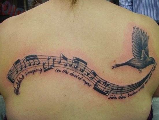 music tattoos designs ideas pictures 52
