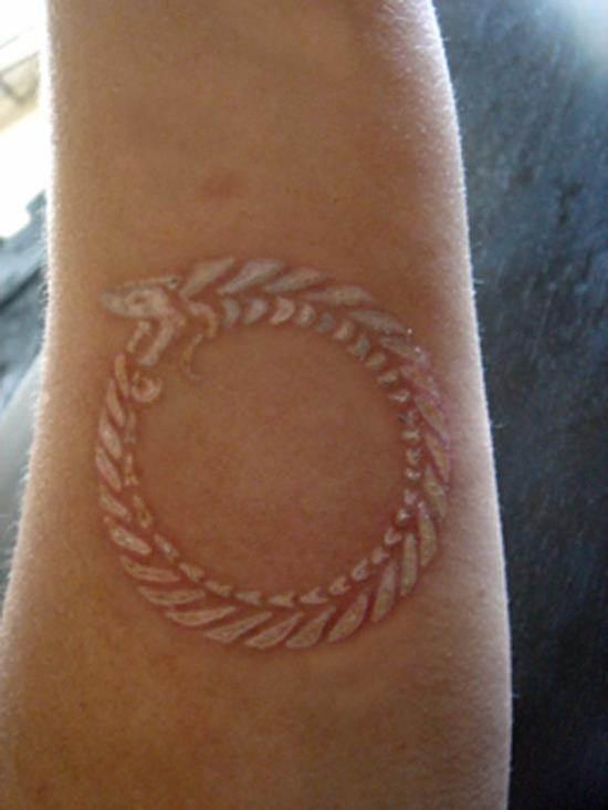 15-White-Ink-Tattoo
