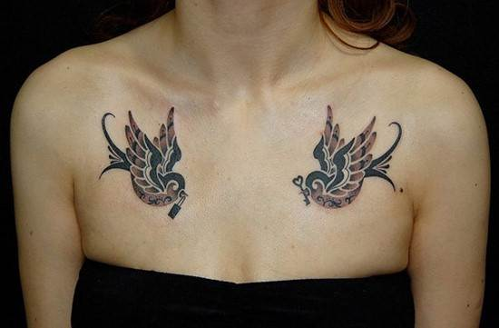 50-swallow-tattoo-on-chest