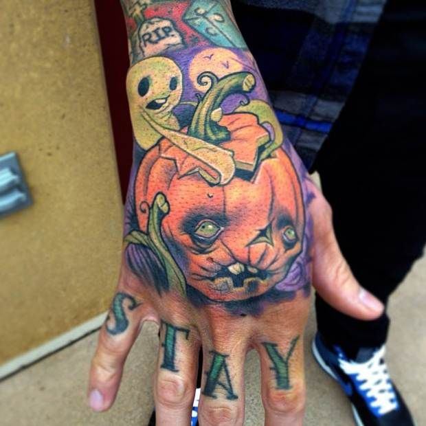 Halloween Tattoo Designs100
