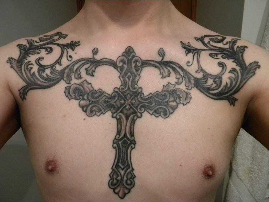 Cross Tattoos for Men.153