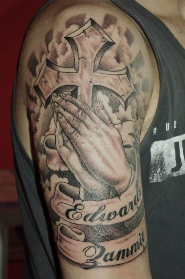 Cross Tattoos for Men (10)