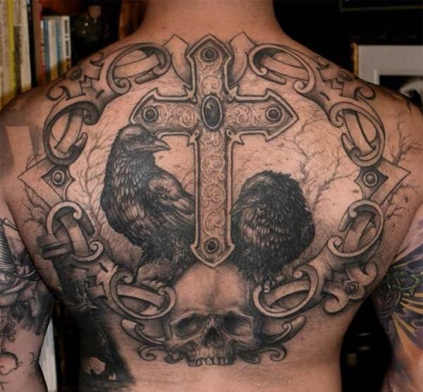 Cross Tattoos for Men (13)
