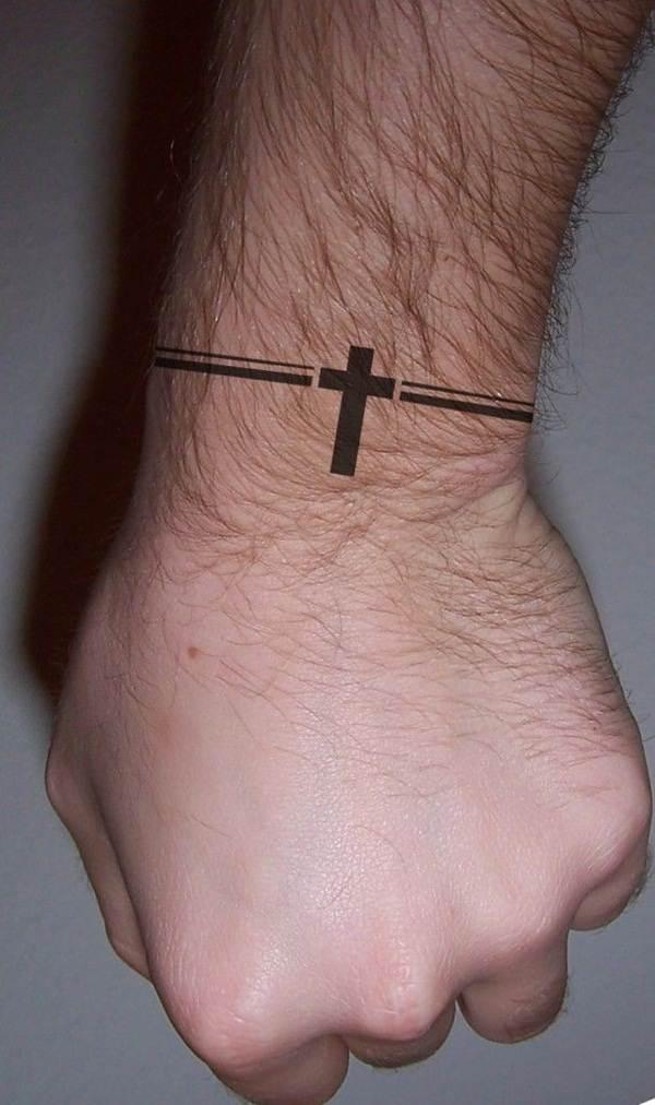 Cross Tattoos for Men (17)