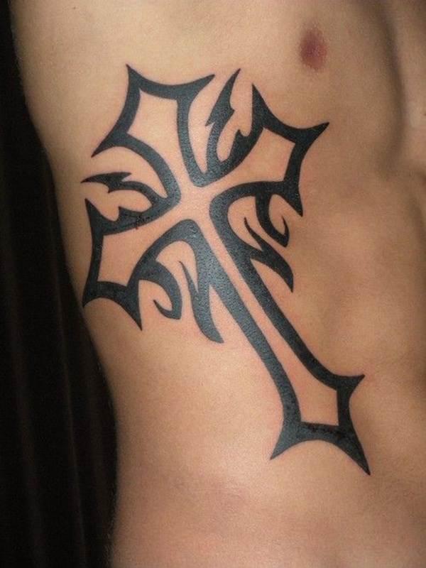 Cross Tattoos for Men (24)